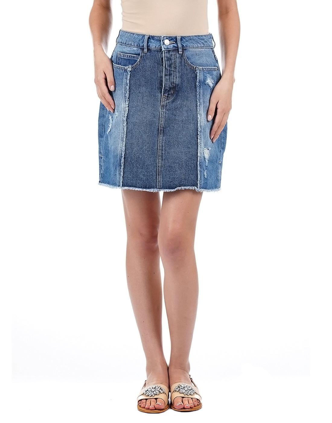 Vero Moda Women Blue Skirt