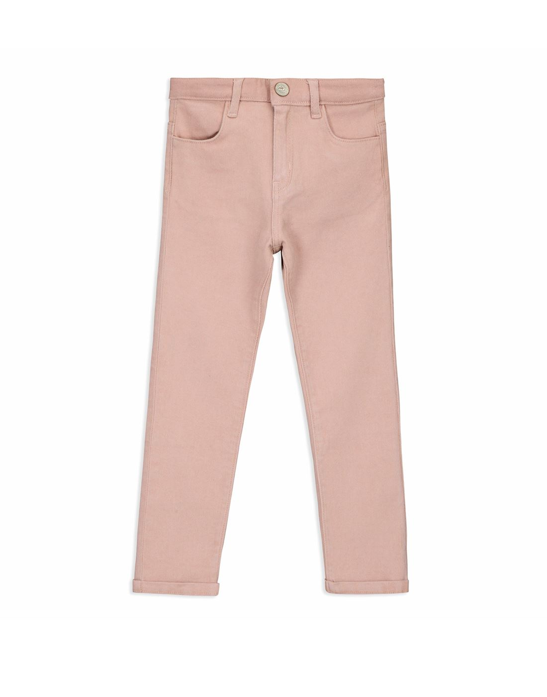 Cherry Crumble California Casual Wear Solid Girls Jeans
