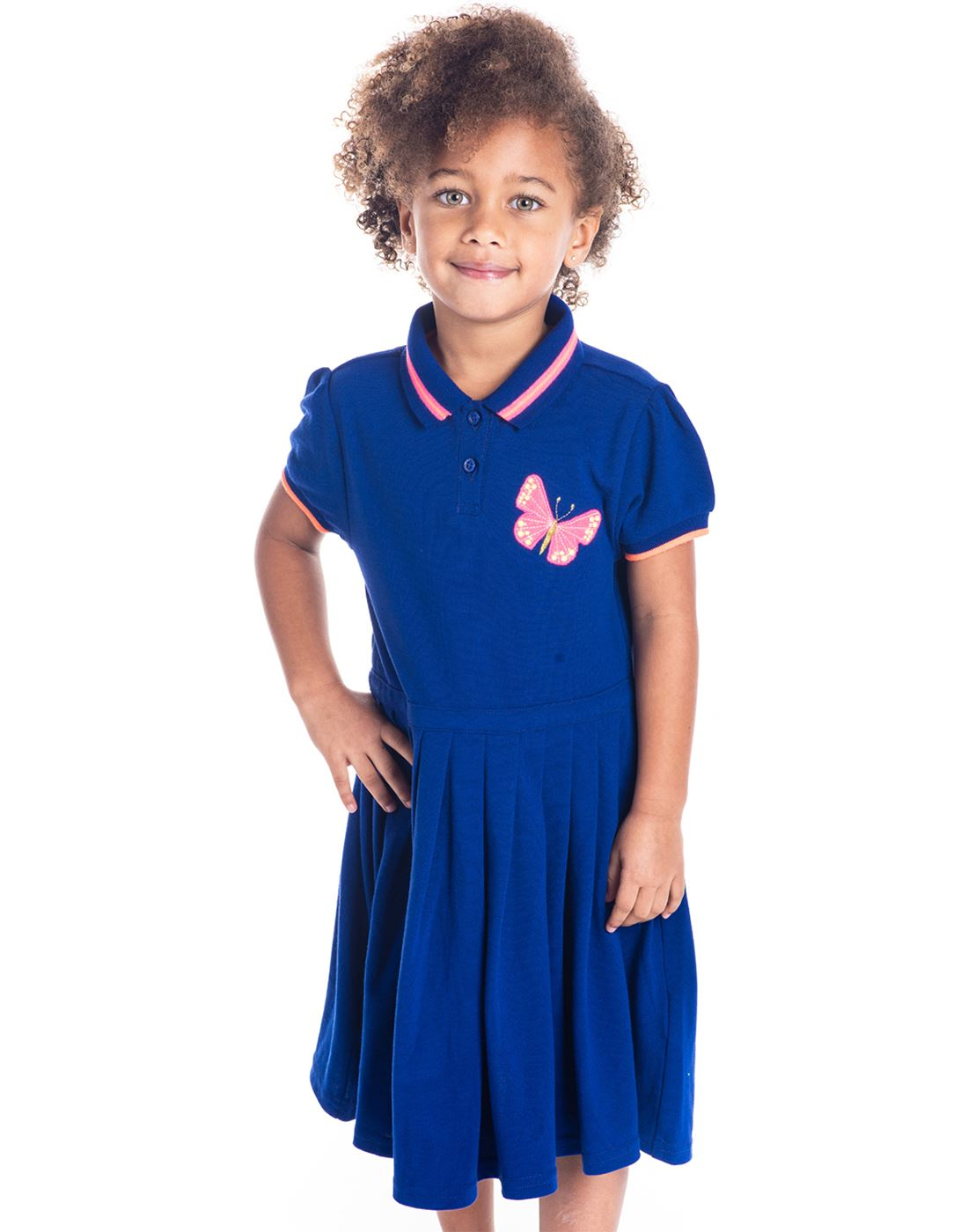 Cherry Crumble California Casual Wear Solid Girls Dresses