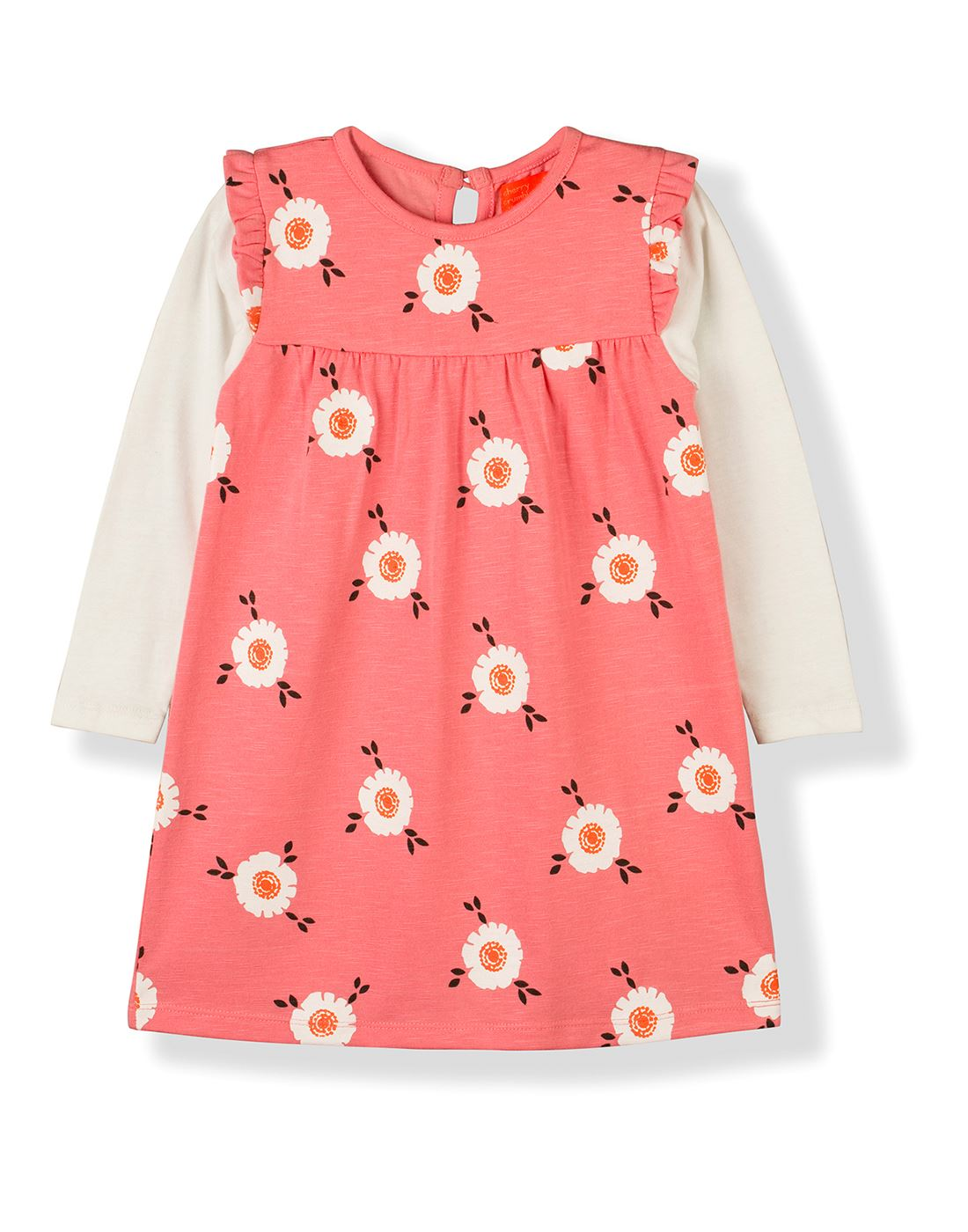 Cherry Crumble California Casual Wear Printed Girls Dresses