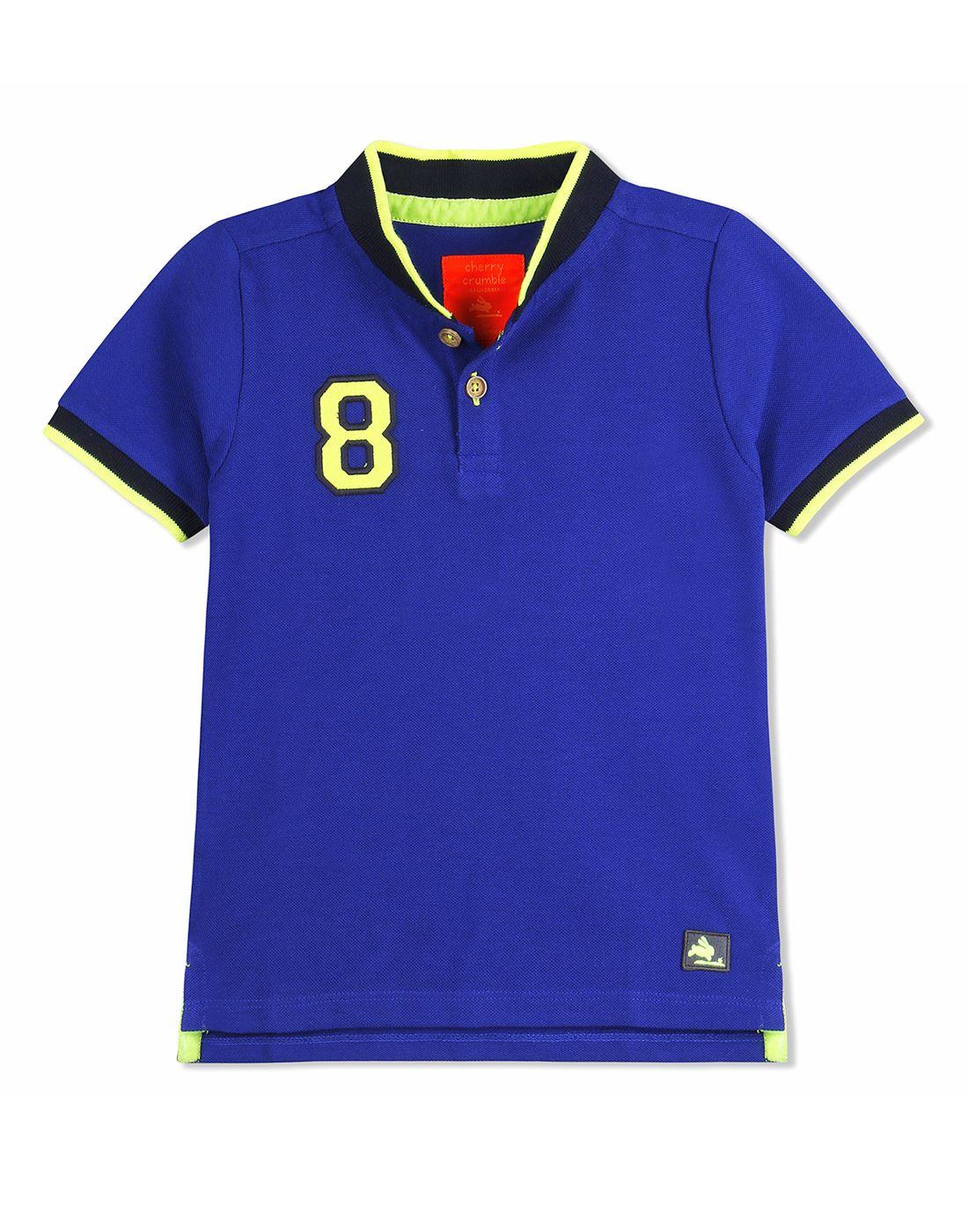 a2baf1643 Cherry Crumble California Casual Wear Solid Boys T-Shirt