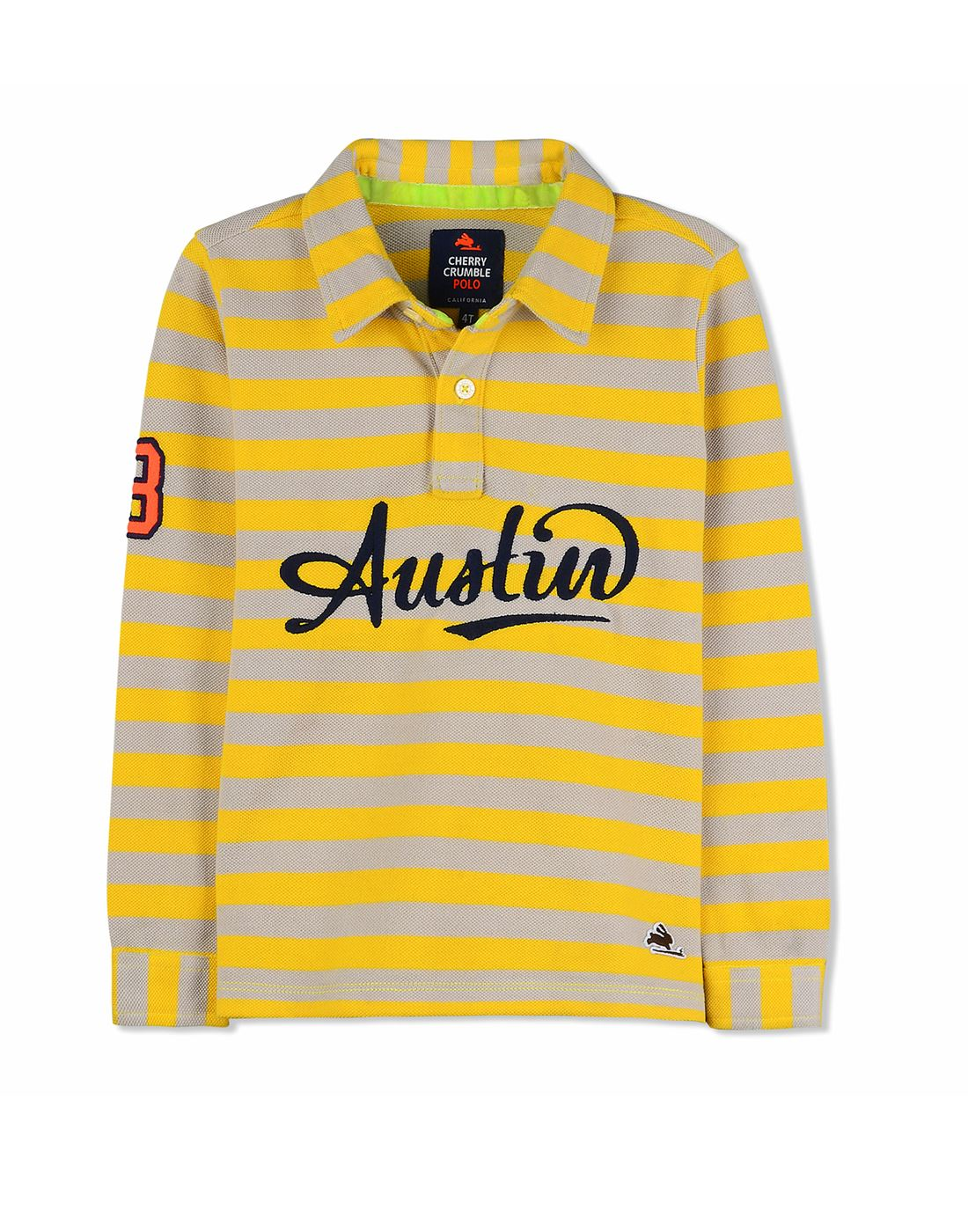 3dff34cc Cherry Crumble California Casual Wear Striped Boys T-Shirt ...