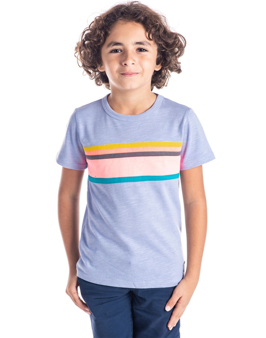 Cherry Crumble California Casual Wear Printed Boys T-Shirt