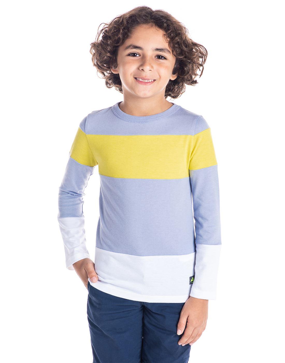 7abcb015 Cherry Crumble California Casual Wear Striped Boys T-Shirt