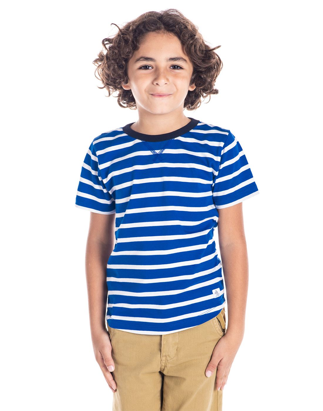 Cherry Crumble California Casual Wear Striped Unisex T-Shirt