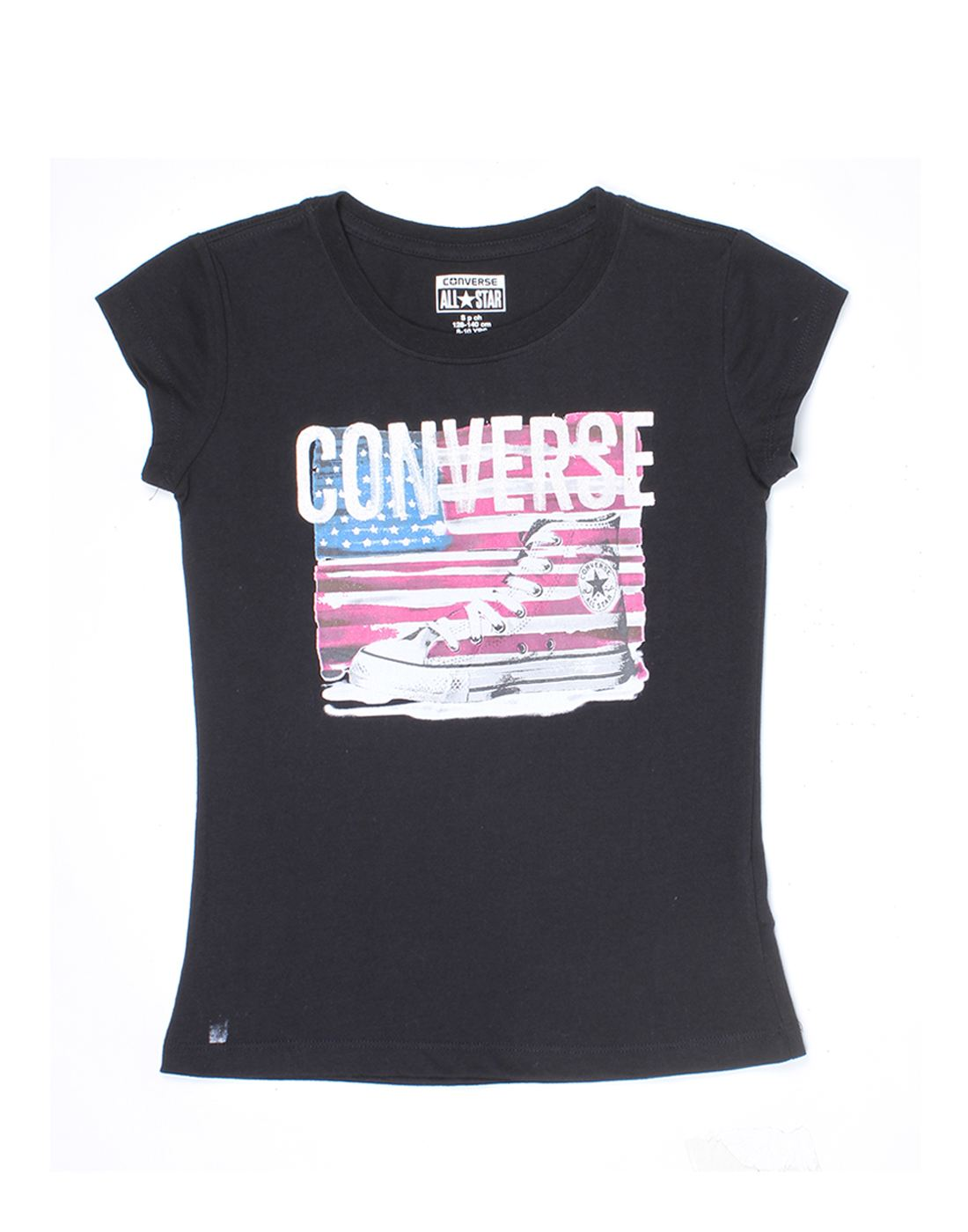 Converse Girls Black Top