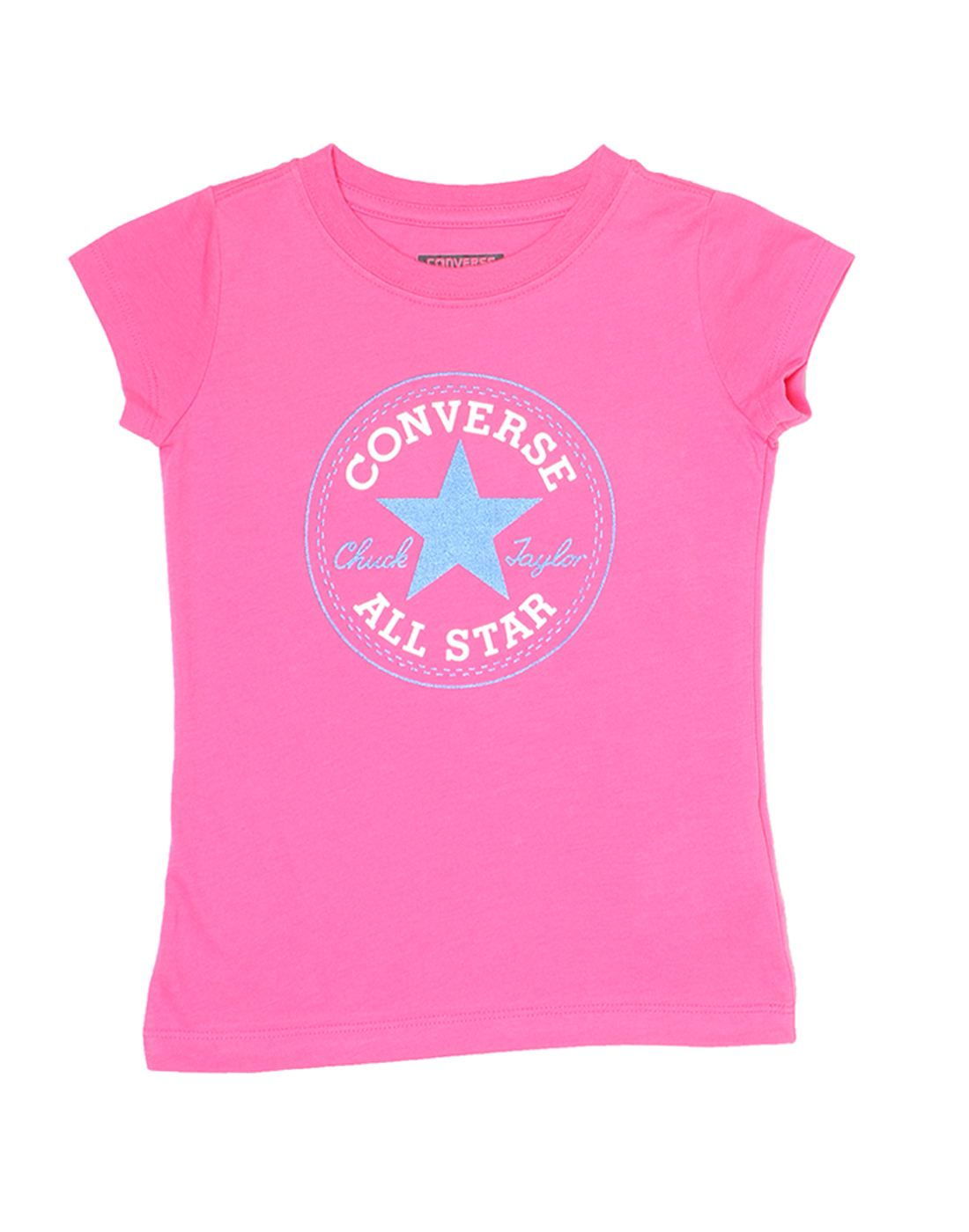 Converse Girls Pink Top