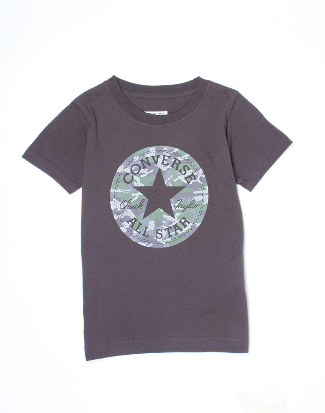 Converse Boys Purple T-Shirt