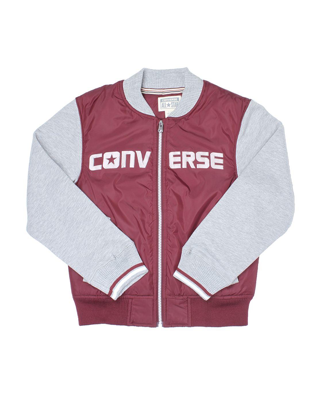 Converse Boys Maroon Sweatshirt