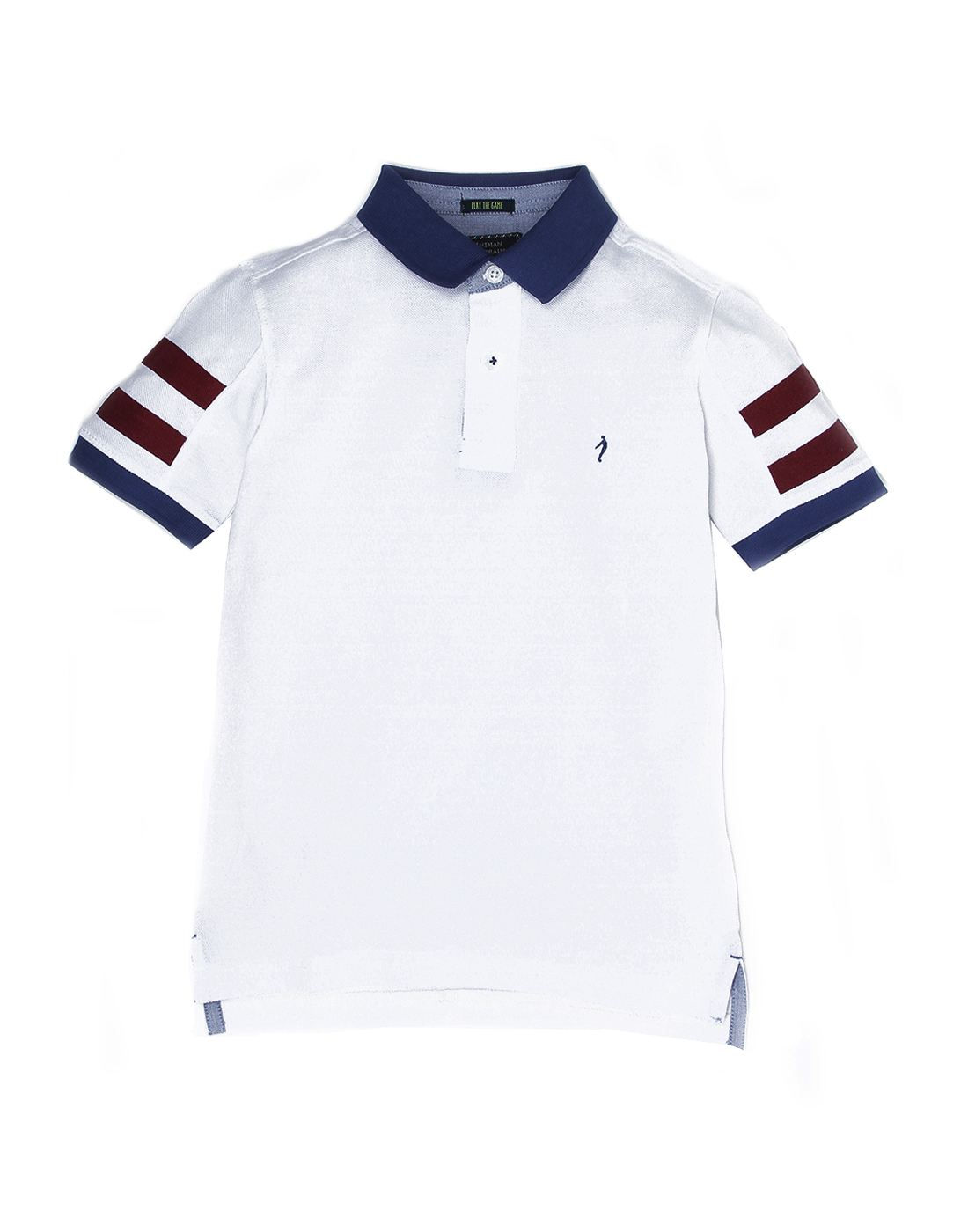 Indian Terrain Boys White Casual T-Shirt