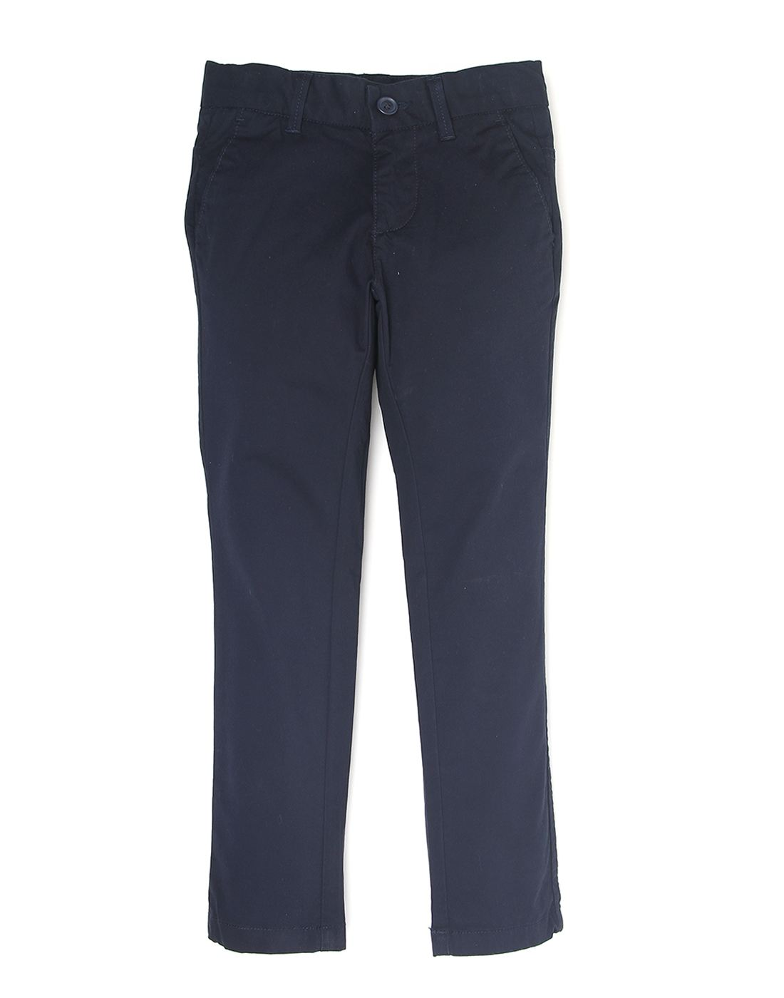 Indian Terrain Boys Casual Wear Solid Trousers
