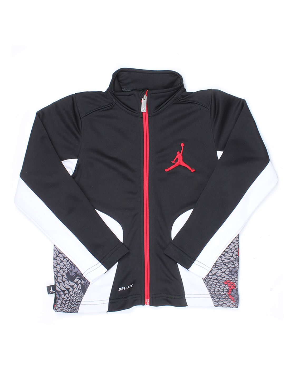 Jordan Boys Black Solid Jacket