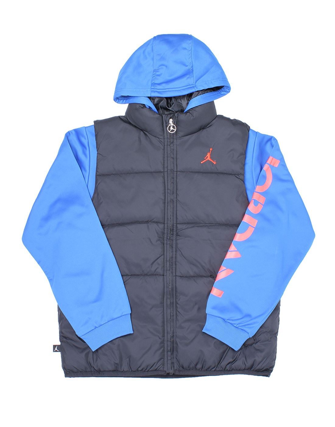 Jordan Boys Blue Solid Jacket