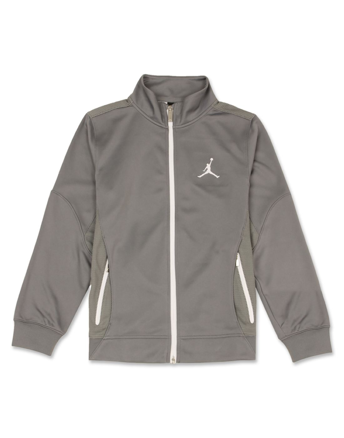 Jordan Boys Grey Solid Jacket