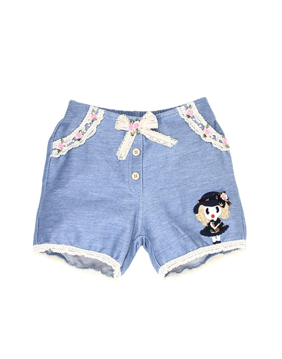 K.C.O 89 Girls Casual Solid  Short