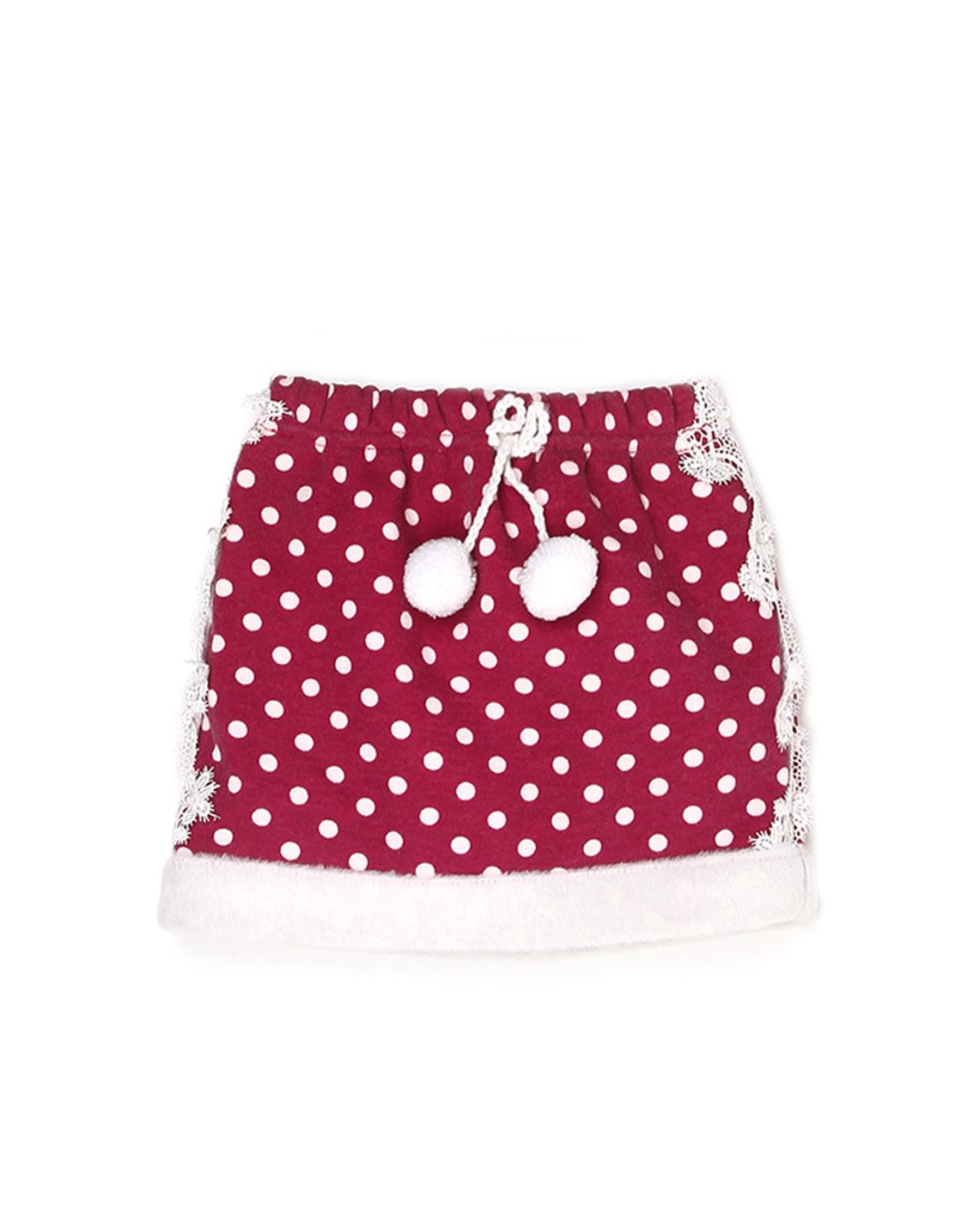 K.C.O 89 Girls Casual Polka Print  Skirt