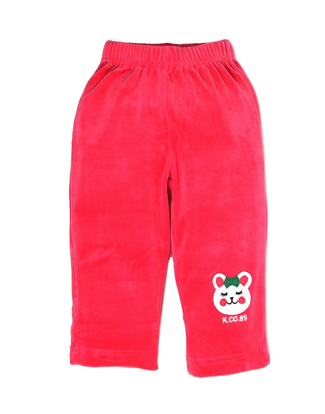 K.C.O 89 Girls Casual Solid  Pant