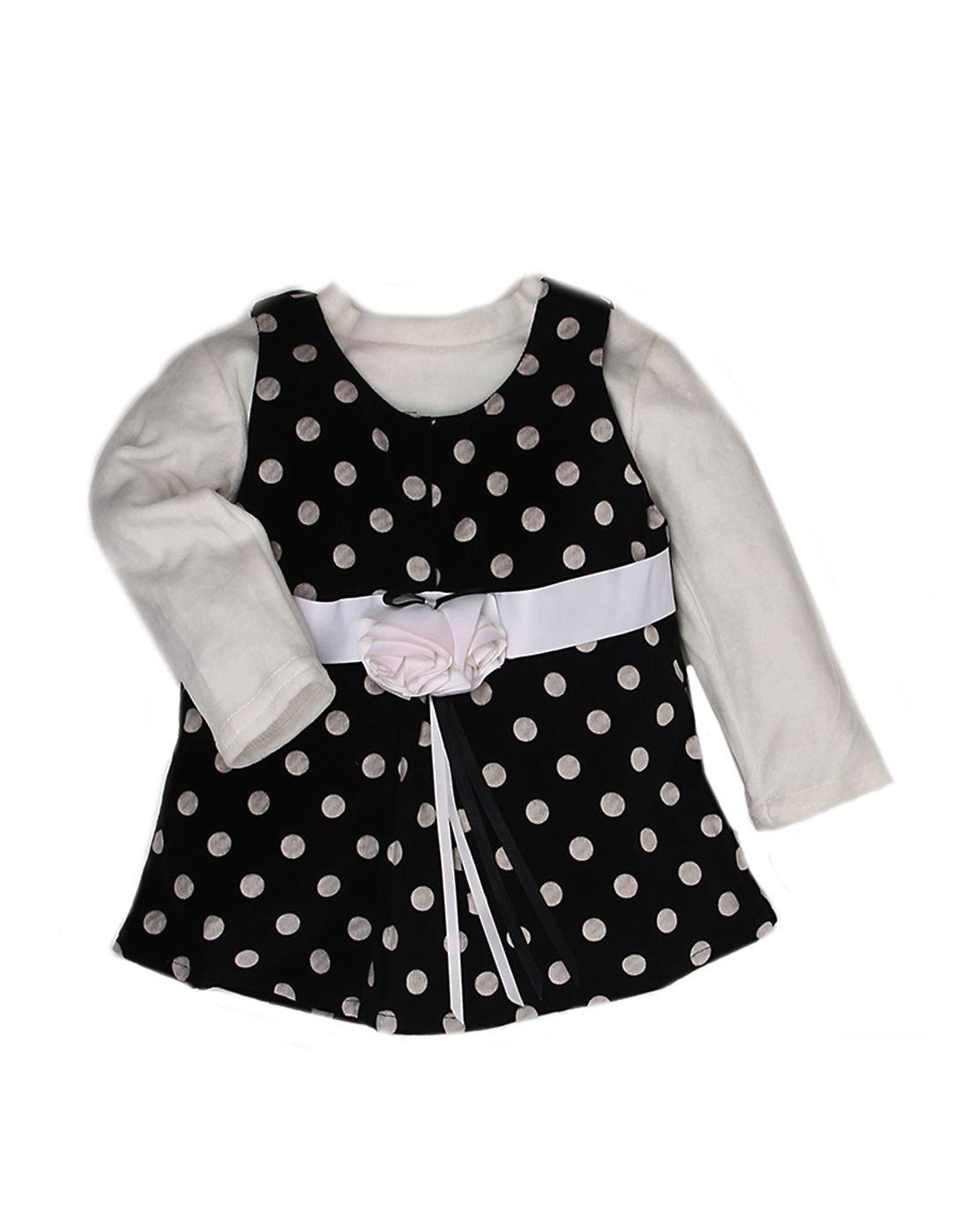 K.C.O 89 Girls Casual Printed Full Sleeve Dress