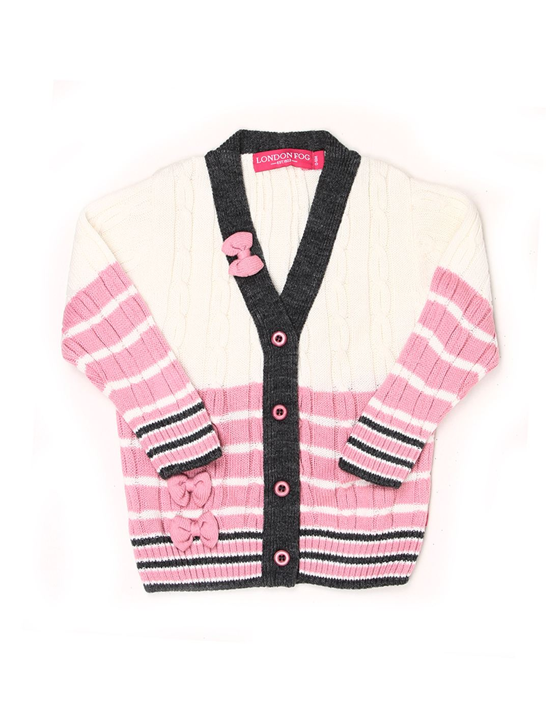 London Fog Baby Girls Multicolor Sweater