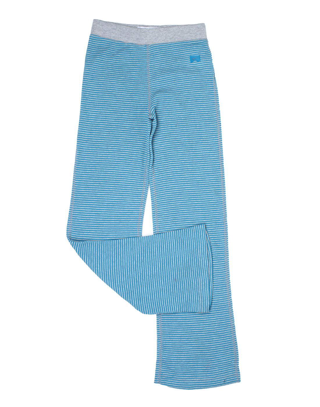 Nike Blue Cotton Girls Bottom