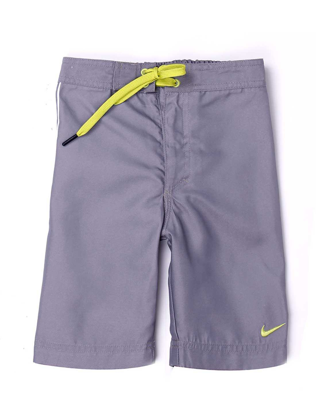 Nike Grey Polyester Boys Shorts