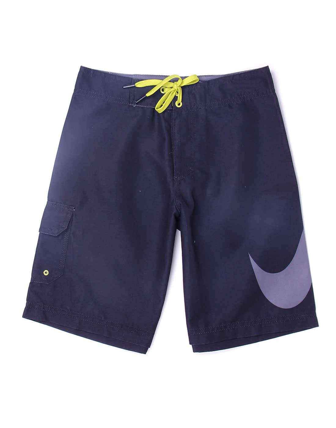 Nike Black Polyester Boys Shorts