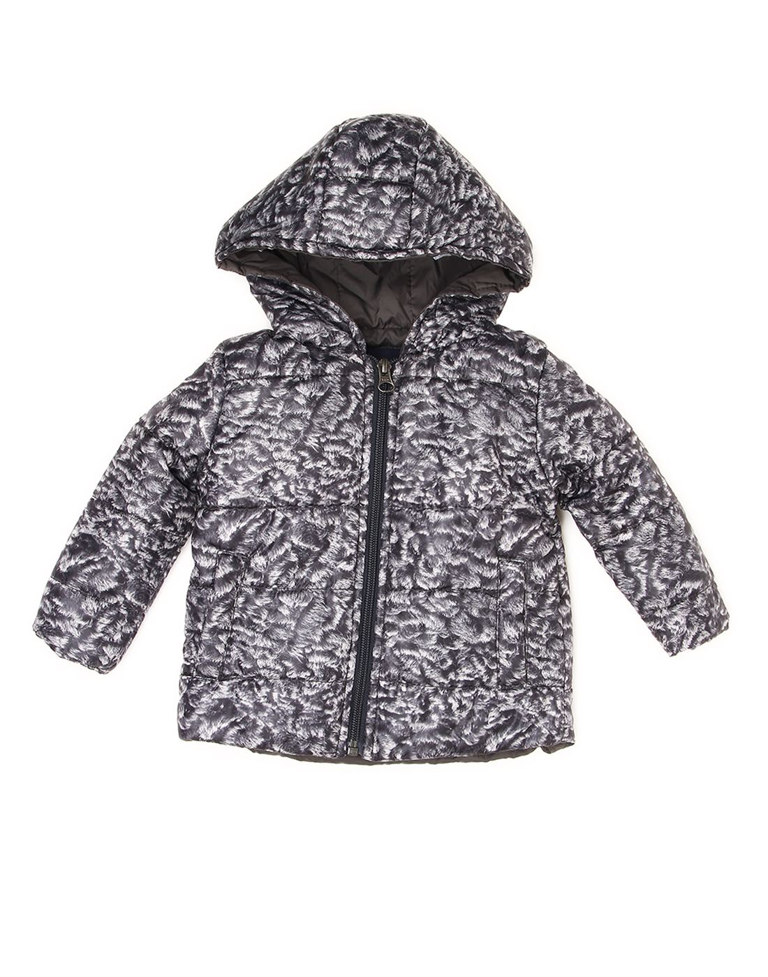 Wingsfield Black Baby Boy Winter Wear Jacket