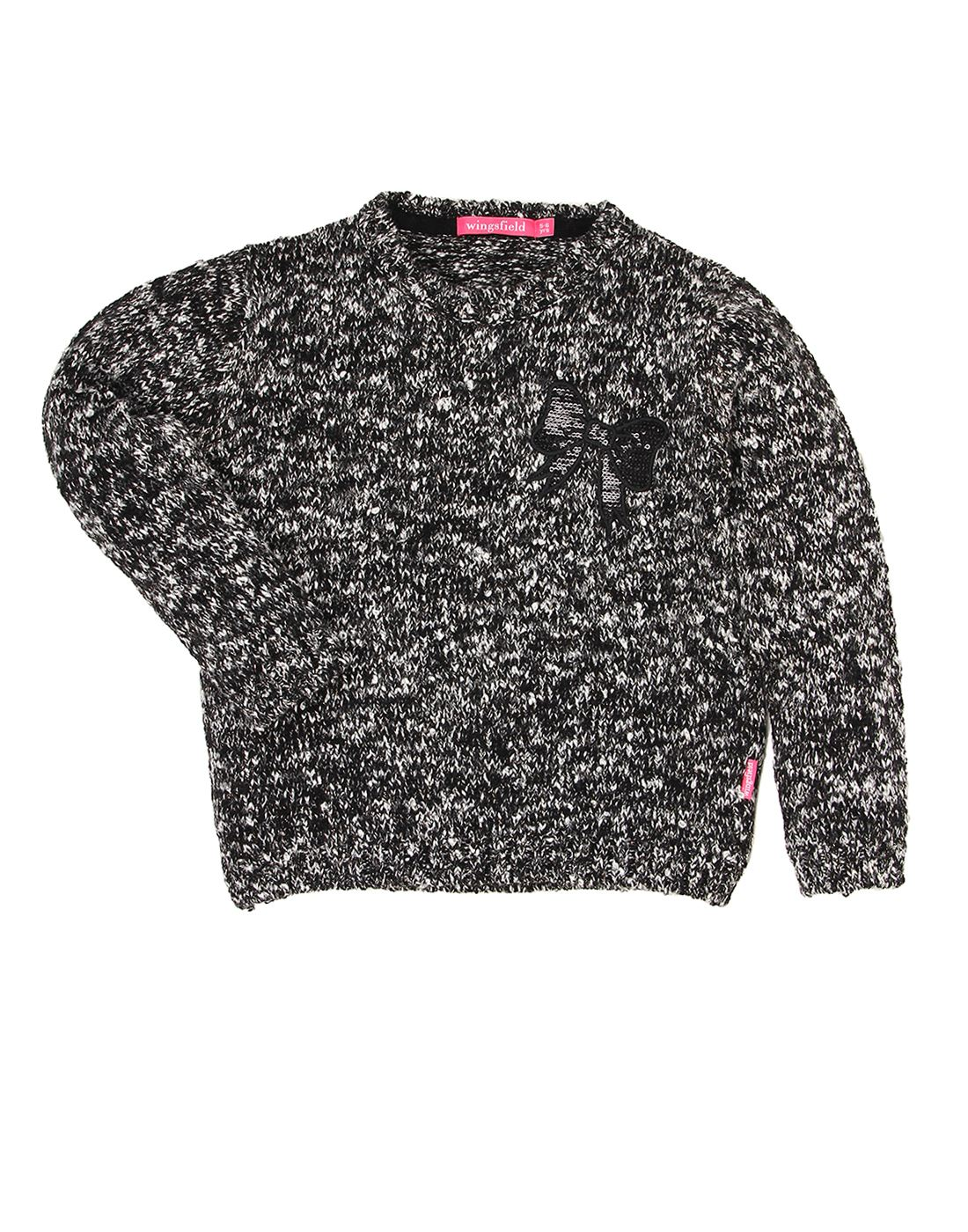Wingsfield Black Girl Winter Wear Sweater