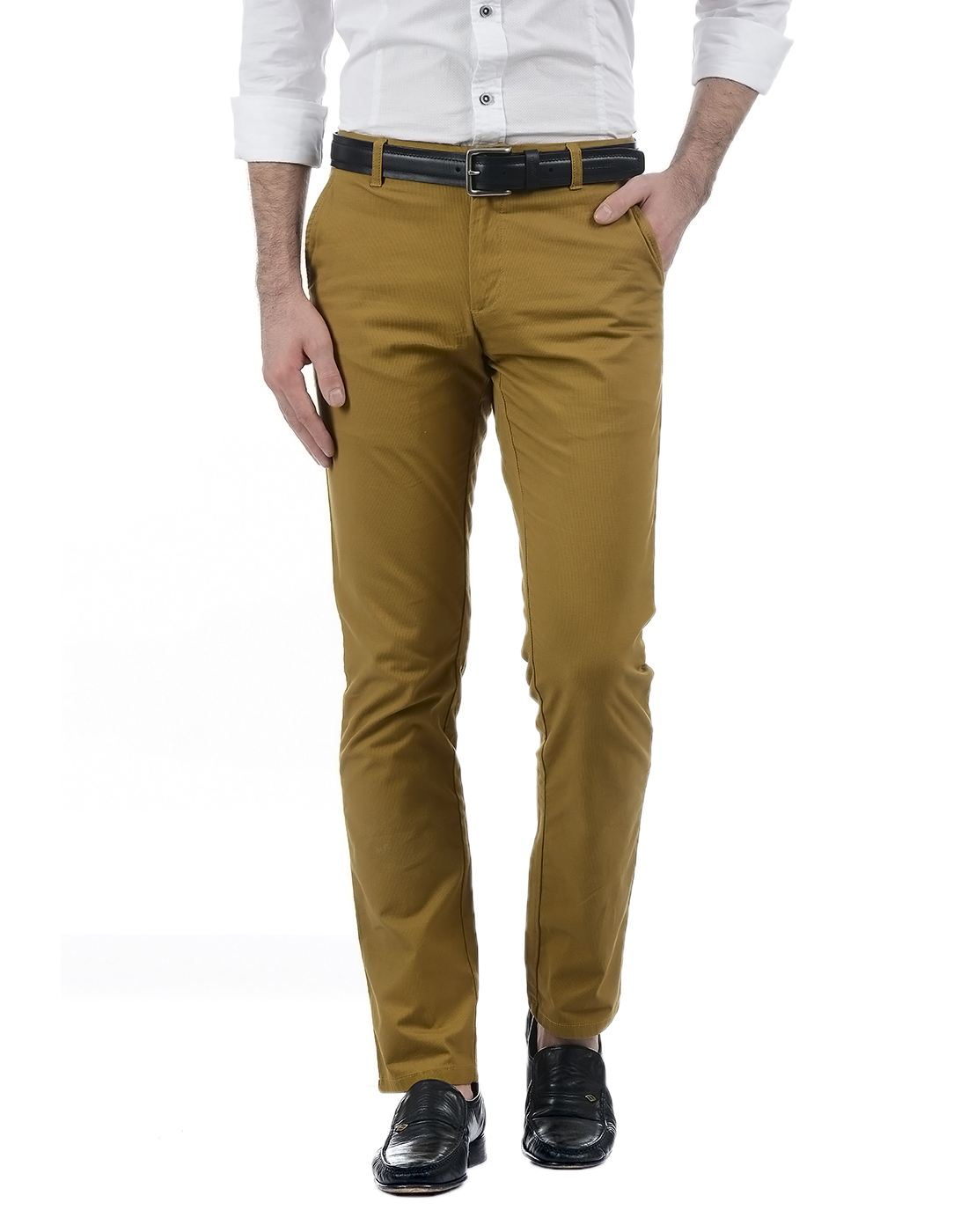 London Fog Men Brown Trouser