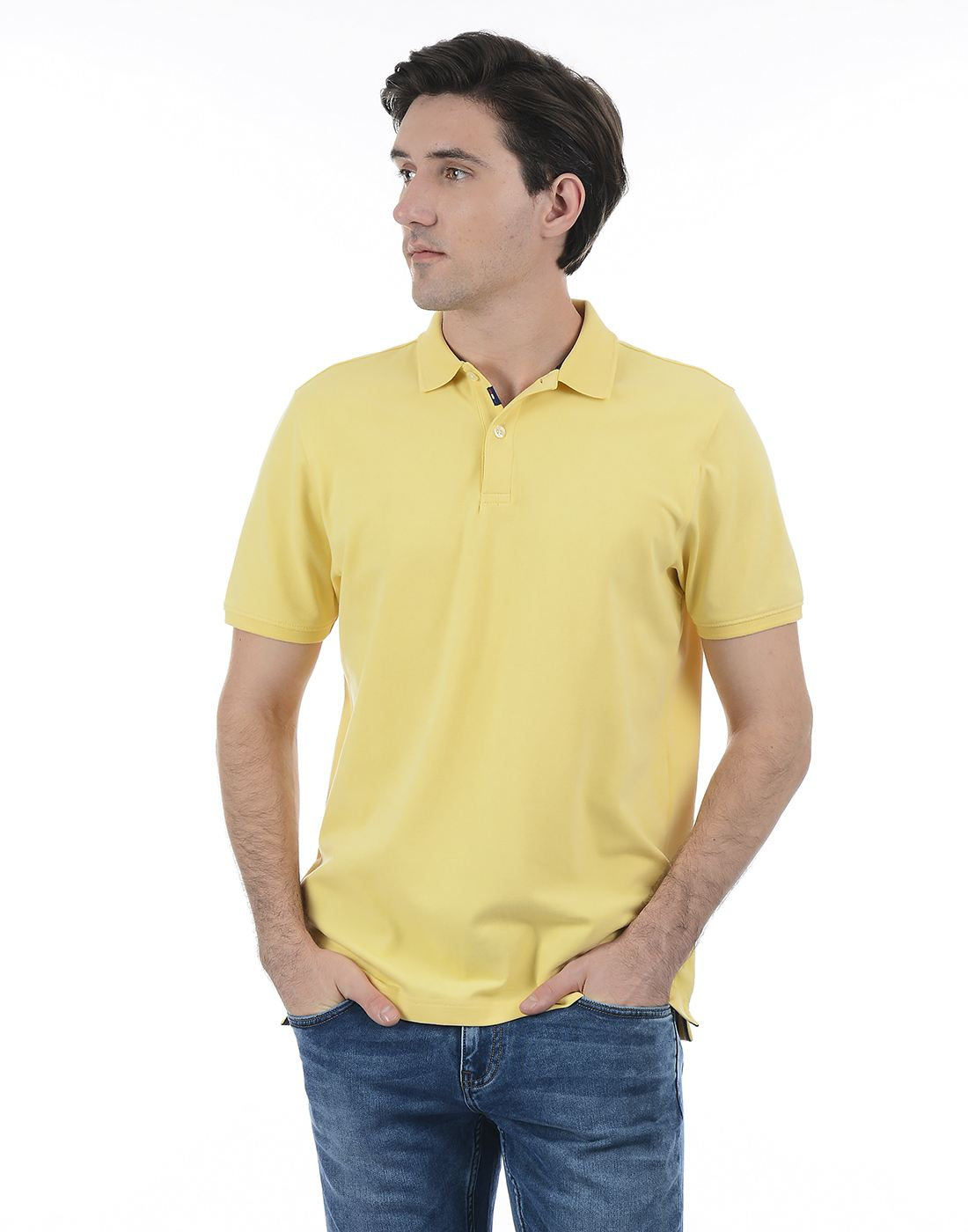 London Fog Men Yellow Shirt