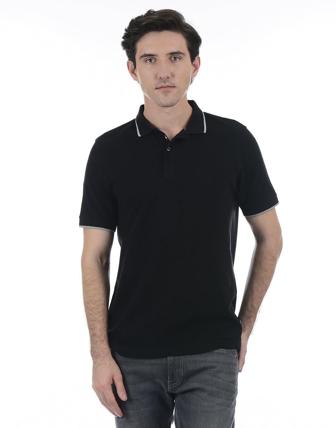 London Fog Men Black Shirt