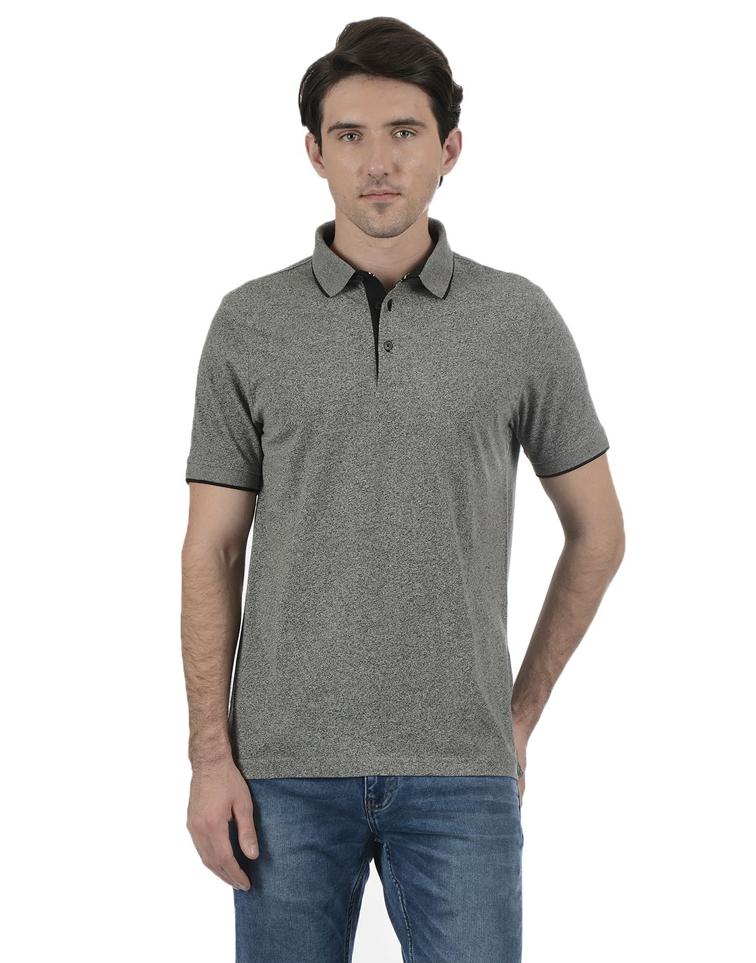 London Fog Men Grey Shirt