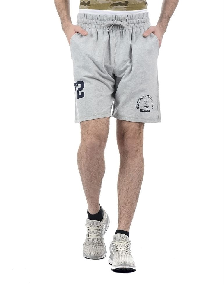 French Connection Men Grey Shorts