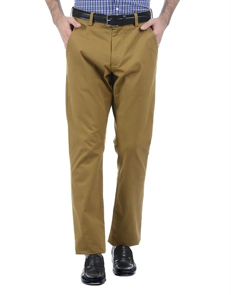 French Connection Men Brown Trouser