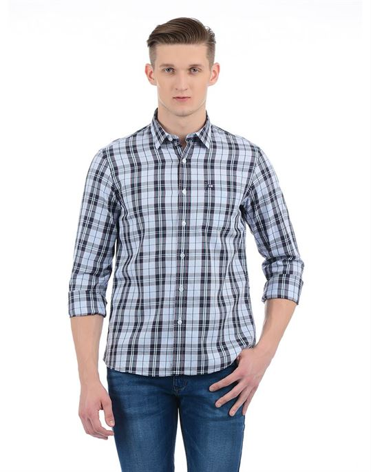 Arrow Sport Casual Checkered Men Shirt