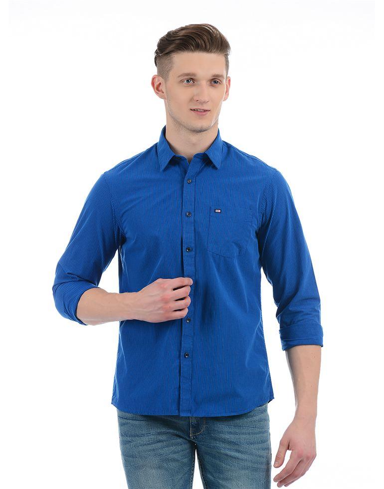 Arrow Sport Casual Checkered Men Shirt