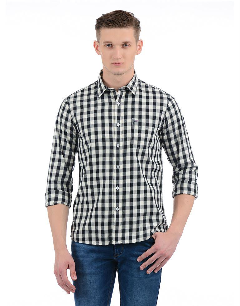 Arrow Sport Men Casual Wear Checkered Shirt