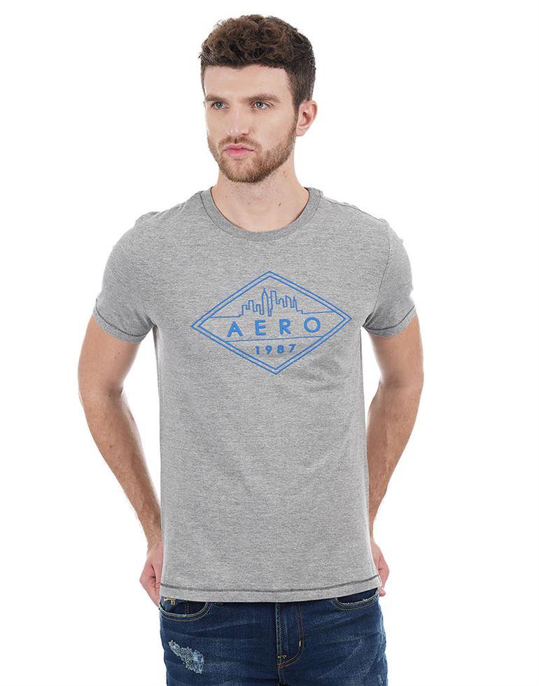 Aeropostale Casual Printed Men T-Shirt