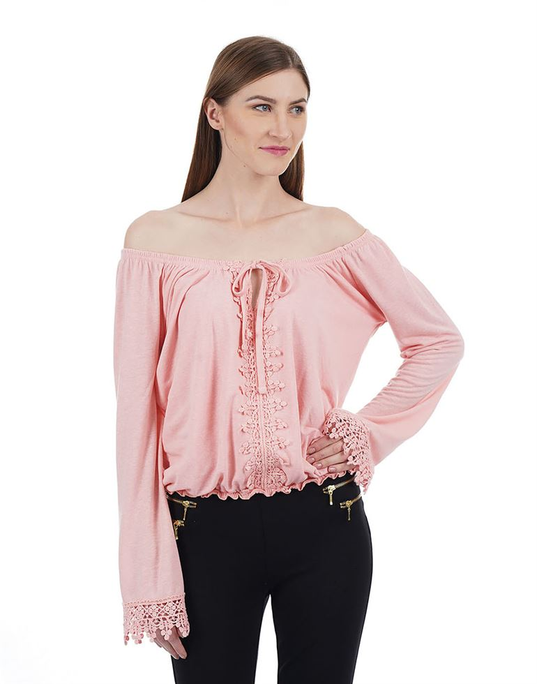 Aeropostale Women Solid Casual wear Top
