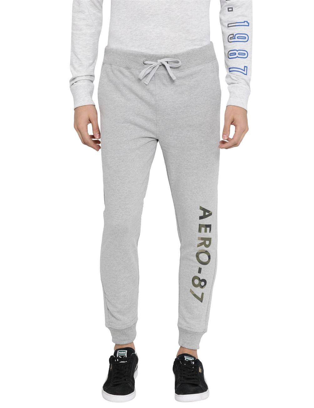 Aeropostale Men Sports Wear Solid Jogger