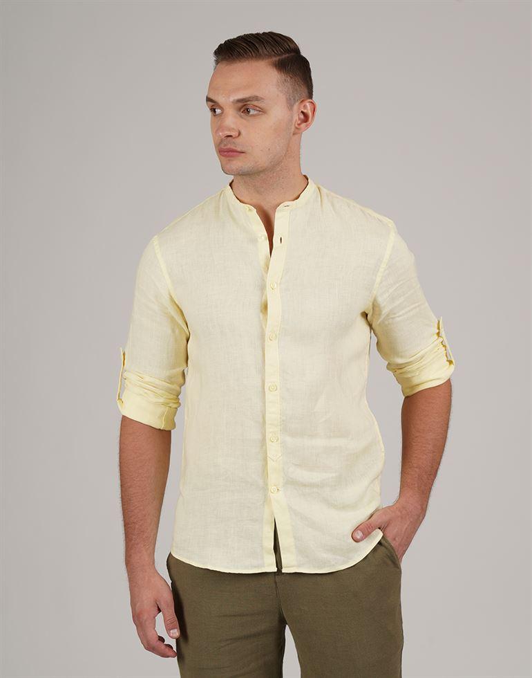 Celio Casual Wear Solid Men Shirt