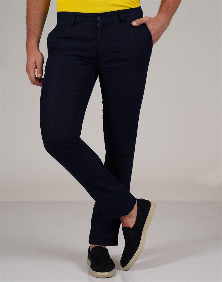 Celio Men Casual Wear Solid Trouser
