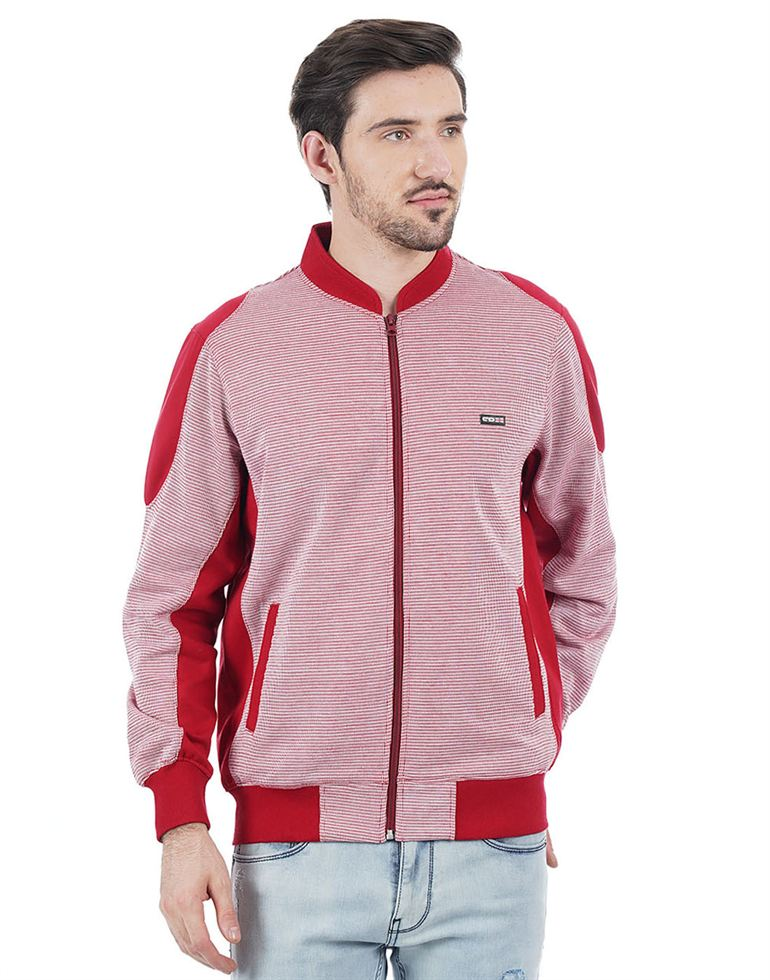 Cloak & Decker Men Red Sweatshirt