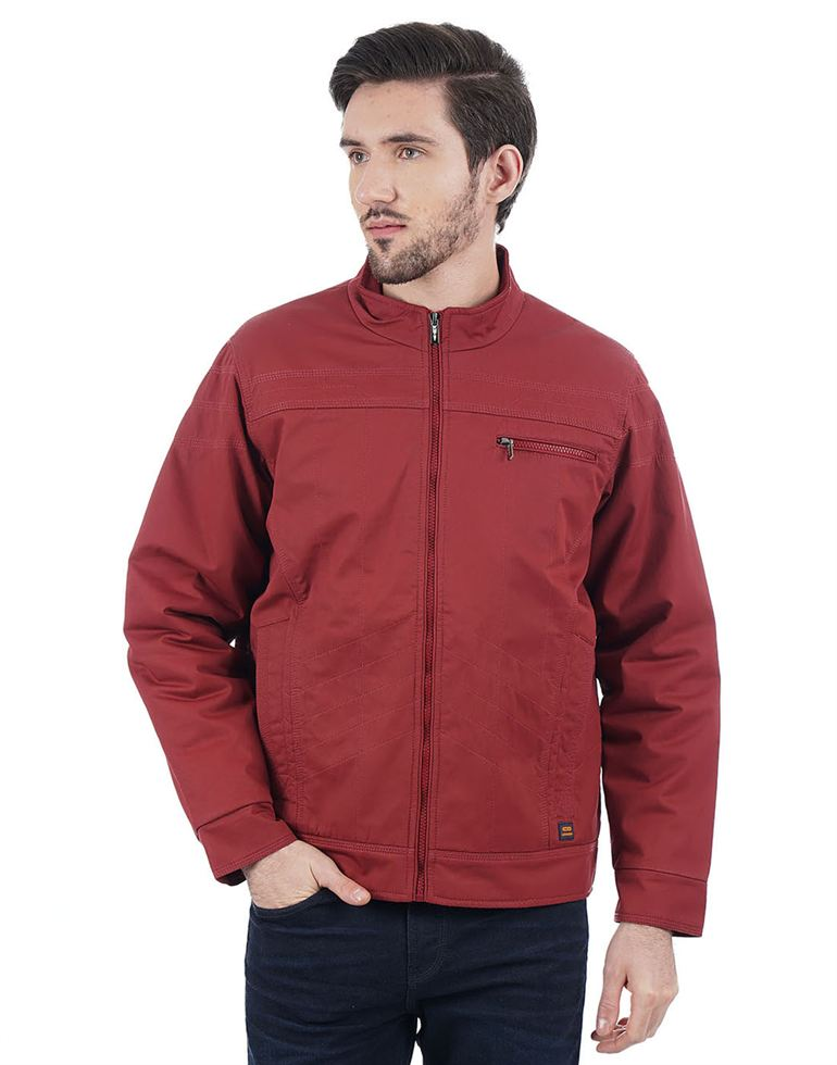 Cloak & Decker Men Red Jacket
