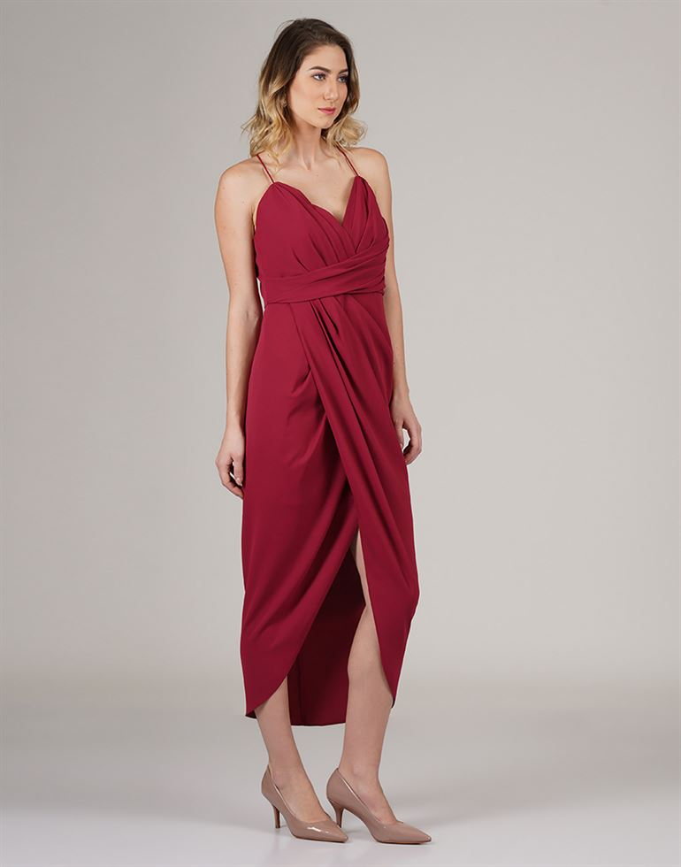 Forever New Women Casual Wear Solid Dress