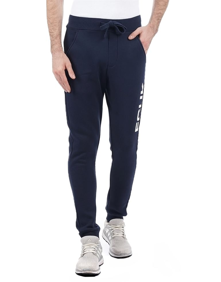 French Connection Men Blue Track Pants