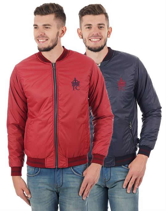 French Connection Men Casual Solid Jacket