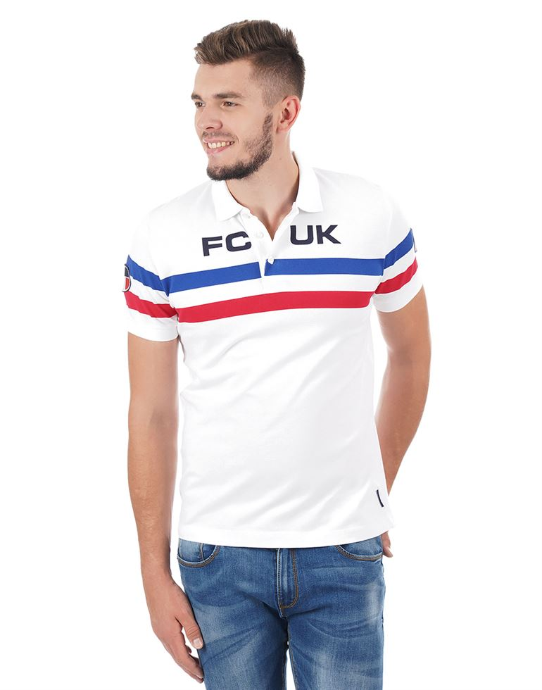 French Connection Men Casual Solid T-shirt
