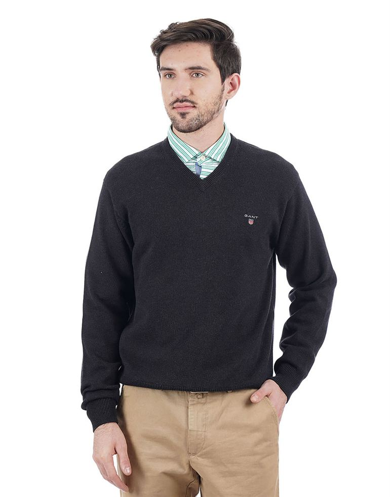 Gant Men Dark Grey Pullover