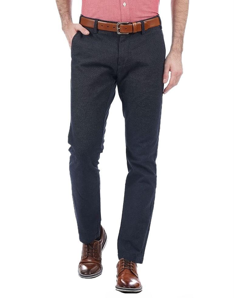 Gant Casual Solid Men Pant N Trouser